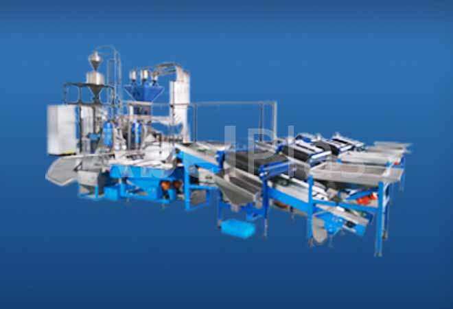Screening,Conveying,weighing,packing system for granules