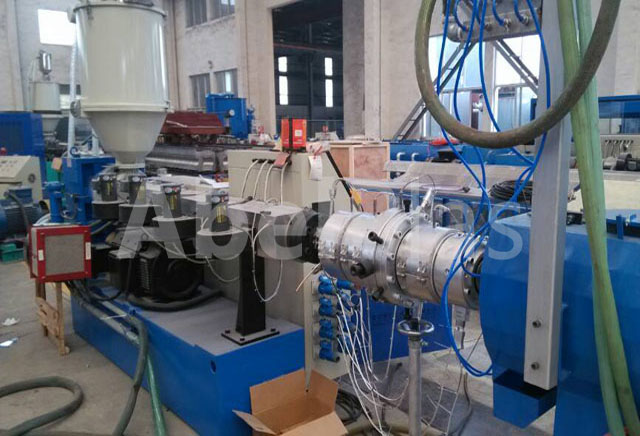 PP PE pipe extrusion line